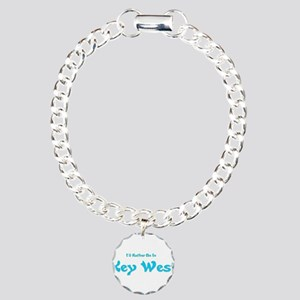 Id Rather Be In Key West Charm Bracelet, One C