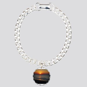Bat Yam Beach Charm Bracelet, One Charm