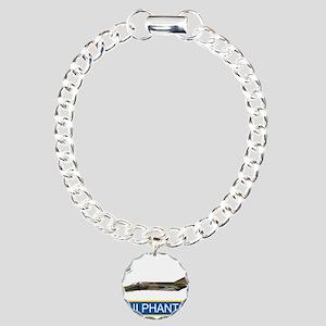 f4grey copy Charm Bracelet, One Charm