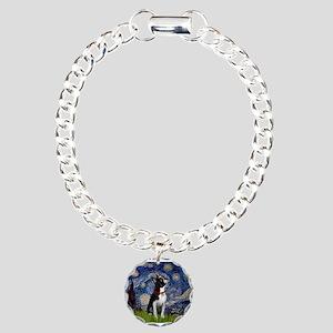 Starry Night & Boston Charm Bracelet, One Charm