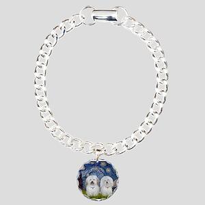Starry / Coton Pair Charm Bracelet, One Charm