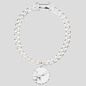 Champering against the g Charm Bracelet, One Charm