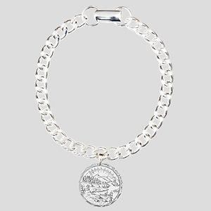 Vintage Alaska State Seal Bracelet