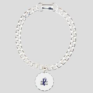 Anti-Bullying Blue Ribbon Bracelet