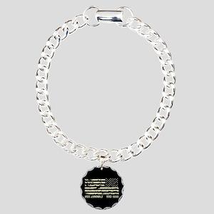 USS Zumwalt Charm Bracelet, One Charm