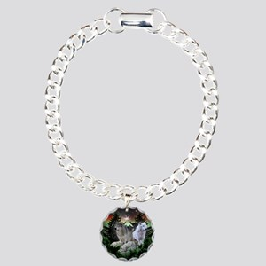 Northern Wolves Charm Bracelet, One Charm
