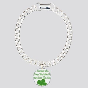 IrishWorldDesign Charm Bracelet, One Charm