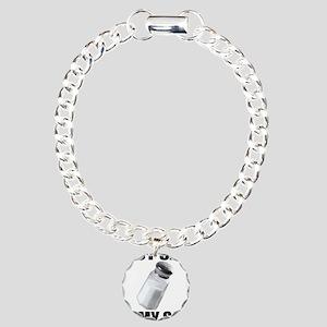 I PUT SALT ON MY SALT Charm Bracelet, One Charm