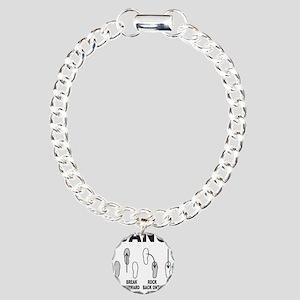 DANCE/DANCING/DANCER Charm Bracelet, One Charm