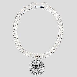 Worn Zodiac Scorpio Charm Bracelet, One Charm