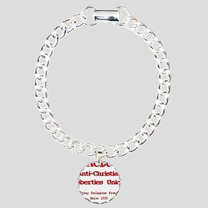 anti-christian Charm Bracelet, One Charm