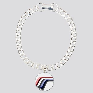 Mustang Deluxe 2 Sides Charm Bracelet, One Charm