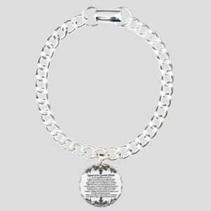 Thistle Legend Charm Bracelet, One Charm
