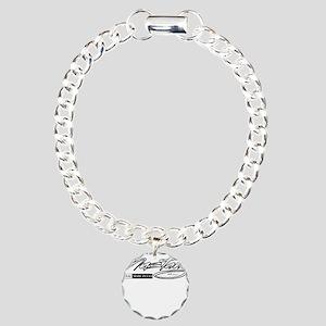 mustang Charm Bracelet, One Charm