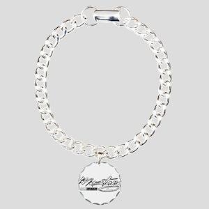 MustangUSA2 Charm Bracelet, One Charm