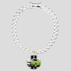 New Challenger Green Charm Bracelet, One Charm