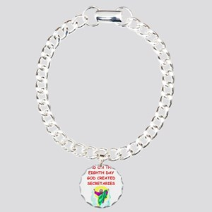 SECRETARIES Charm Bracelet, One Charm