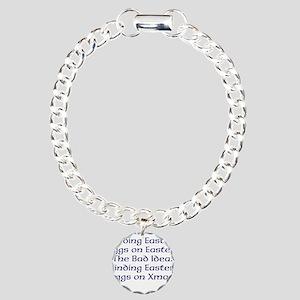 Easter #1 Charm Bracelet, One Charm