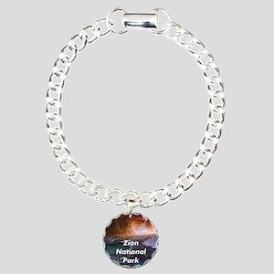 Zion National Park Charm Bracelet, One Charm