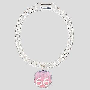 Oklahoma Route 66 - Pink Bracelet