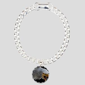 American Bald Eagle Head Bracelet