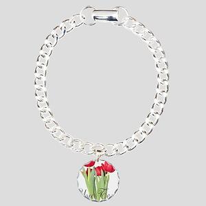 Personalizable Tulips Bracelet
