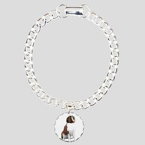 St Bernard #1 Charm Bracelet, One Charm