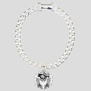 Chef skull: v1 Charm Bracelet, One Charm