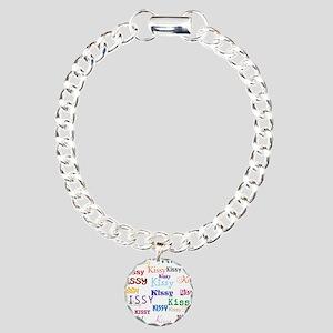 KISSY,KISSY,KISSY,KISSY. Charm Bracelet, One Charm