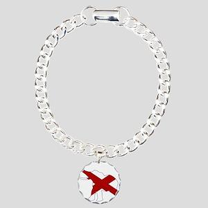 Alabama Republican Eleph Charm Bracelet, One Charm