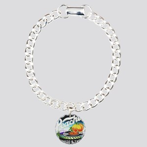 Peaches Records and Tape Charm Bracelet, One Charm