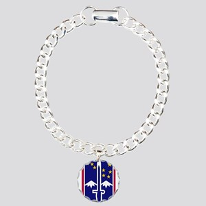 172nd Infantry Brigade.p Charm Bracelet, One Charm