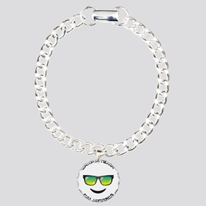 California - Carpinteria Charm Bracelet, One Charm