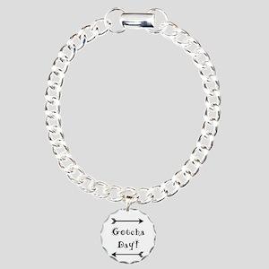 Gocha Day - Adoption Charm Bracelet, One Charm