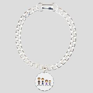 STICK FIGURE FAMILY Bracelet