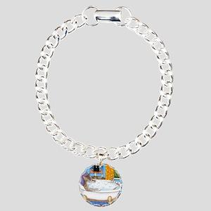 cat 567 Charm Bracelet, One Charm