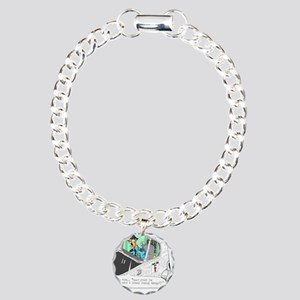 Airline Mug Charm Bracelet, One Charm