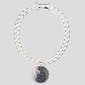 v16 Charm Bracelet, One Charm