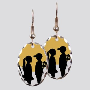 lover girl3 Earring Oval Charm