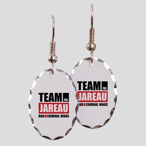Team Jareau Earring Oval Charm