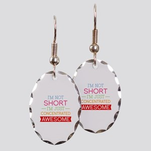 I'm Not Short I'm Just Concentrated Awesome Earrin
