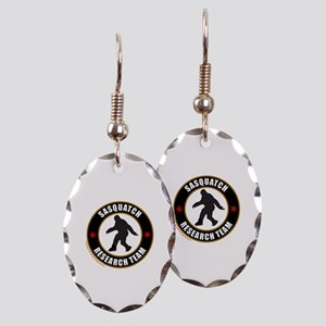 SASQUATCH RESEARCH TEAM Earring Oval Charm