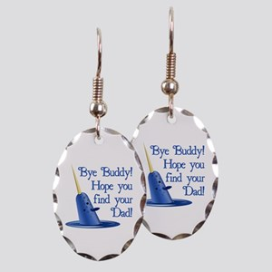 Mr. Narwhal Quote from Elf Earring Oval Charm