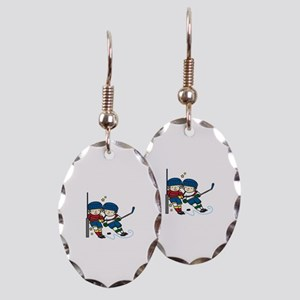 Hockey Boys Earring