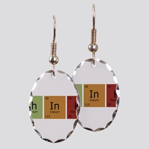 3-thinktrans Earring Oval Charm