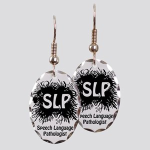 SLP Splash Earring Oval Charm