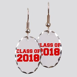 CLASS OF 2018-Fre red 300 Earring