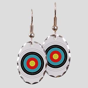 Archery Target Earrings - CafePress