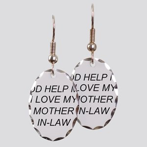 Military Mother In Law Earrings - CafePress