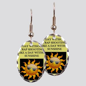 trap shooting Earring